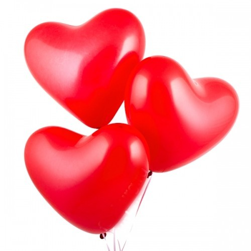 «Великолепие сердец» шарики сердечки - фото 1