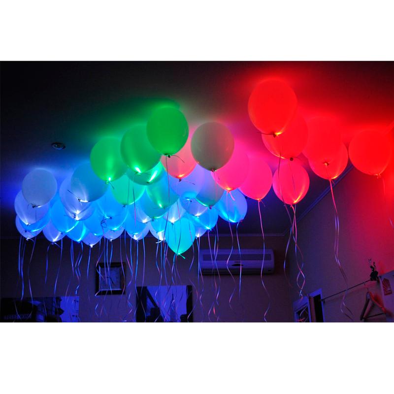 Светящиеся возушные шары с гелием - фото 1