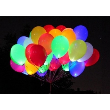 """Набор """"Ясный день"""" из 30 цветных светящихся шаров - фото 1"""