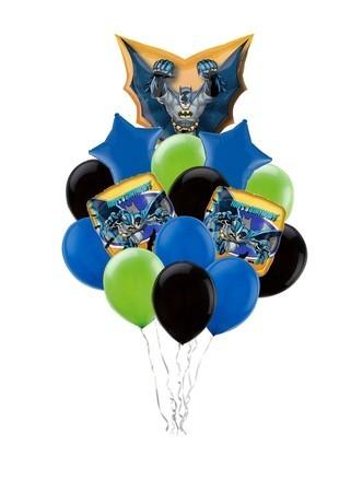 """Набор """"Бэтмен"""" из воздушных шаров в подарок мальчику - фото 1"""