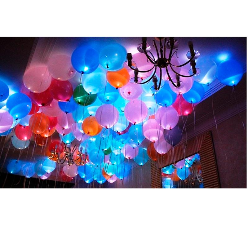 Светящиеся шары под потолок - фото 1