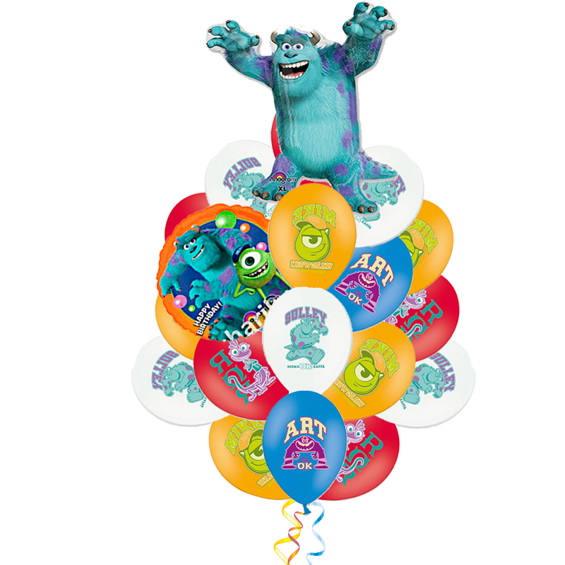 """Композиция-поздравление """"Монстры"""" в подарок на детский праздник - фото 1"""