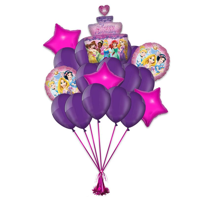 """Поздравление с днем рождения """"Принцессы Диснея"""" - фото 1"""