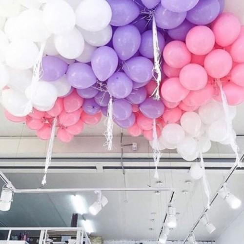 """Композиция """"Мармелад"""" гелиевые надувные шары 3 цветов - фото 1"""