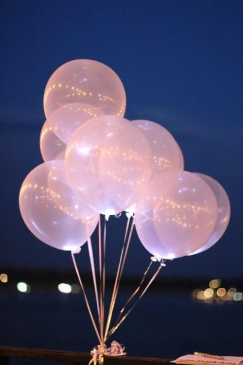 Перламутровые шары светящиеся - фото 1