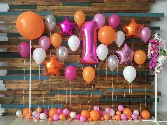 """Композиция """"Хорошее настроение"""" на первый день рождения - фото 1"""