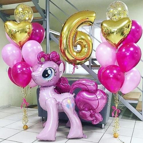 """Композиция на день рождения девочке """"Пинки Пай"""" - фото 1"""