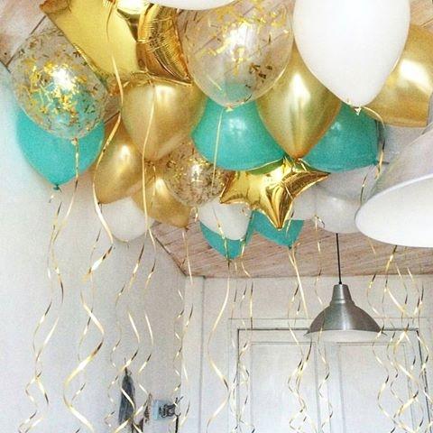 """Гелиевые шары под потолок """"Неземная мечта"""" 30шт - фото 1"""