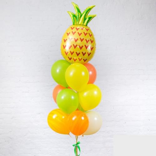 """Набор """"Веселый фрукт"""" в подарок из гелиевых надувных шаров - фото 1"""