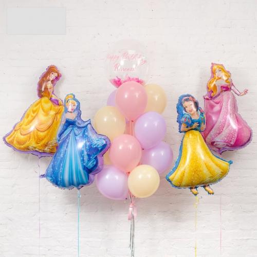 """Композиция """"Принцессы Диснея"""" в подарок на день рождения девочке - фото 1"""