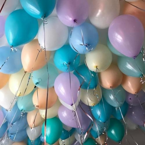 """Набор из 50 воздушных шаров  """"Пастель"""" - фото 1"""