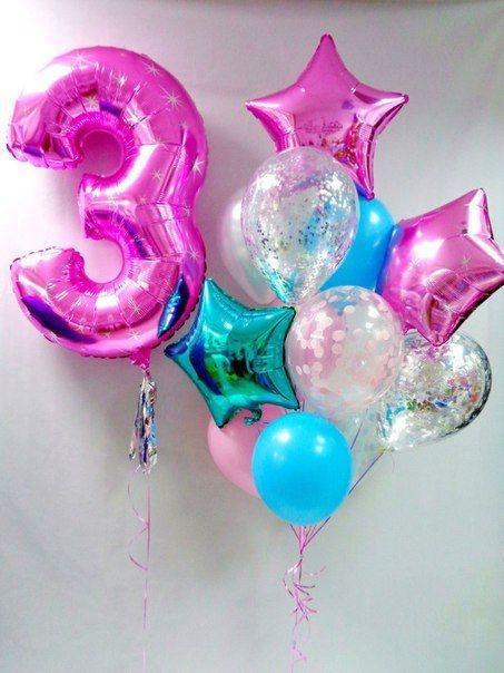 """Композиция """"Конфетка"""" в подарок разноцветных шариков - фото 1"""
