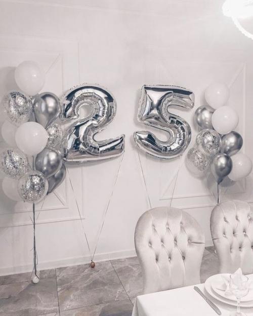 """Комплект """"Серебро"""" в подарок на день рождения - фото 1"""