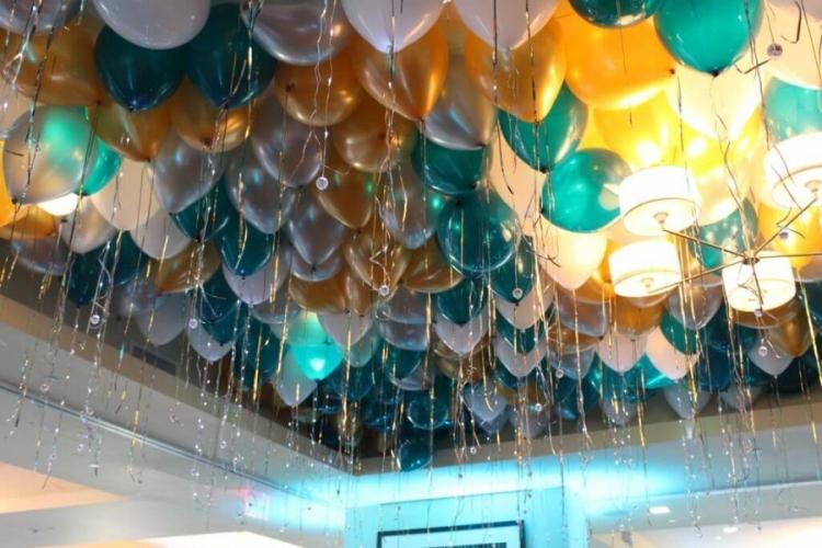 """Набор из 50 воздушных шаров под потолок """"Галактика"""" - фото 1"""