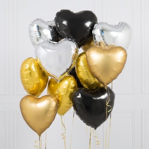 """Комплект """"Шоколадное настроение"""" из 10 шаров - фото 1"""