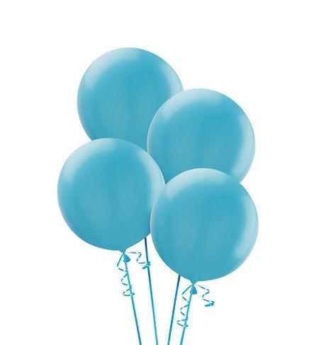 Большой шар Голубой - фото 1