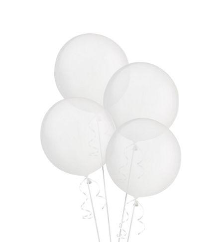 Большие гелиевые прозрачные шары Кристалл - фото 1