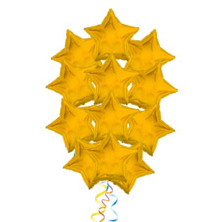 """Комплект """"Звездный свет"""" из 15 фольгированных надувных шаров - фото 1"""