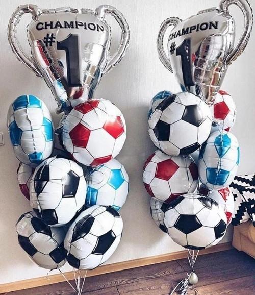 """Набор """"Чемпион"""" из фольгированных надувных шаров - фото 1"""