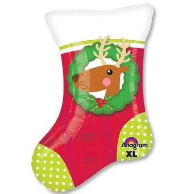 """Фигура """"Рождественский носок"""" - фото 1"""