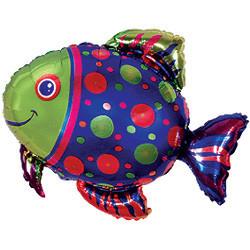 """Воздушный шарик """"Рыбка"""" - фото 1"""