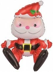 """Воздушный шар """"Санта Клаус"""" на Новый год - фото 1"""