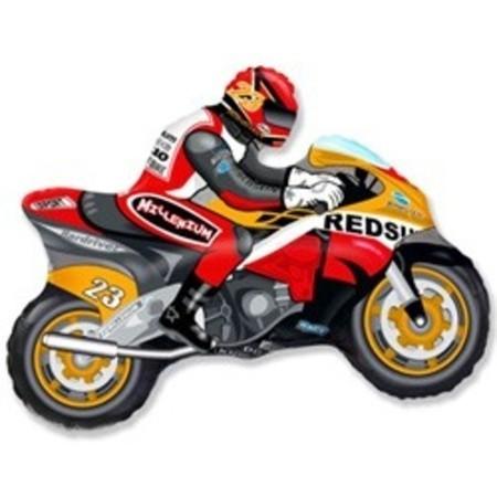 "Шар-фигура ""Мотоцикл"" - фото 1"