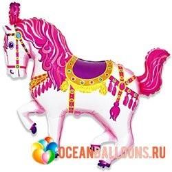 """Фольгированный шар """"Лошадка Цирковая"""" - фото 1"""