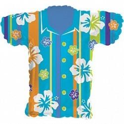 """Фольгированная фигурка в виде рубашки """"Гавайи"""" - фото 1"""