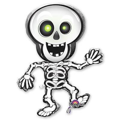 """Фольгированная надувная фигурка на Хэллоуин """"Скелет"""" - фото 1"""