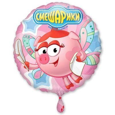 """Круглый шарик """"Нюша"""" в нежно-розовом цвете - фото 1"""