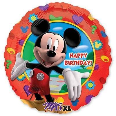 """Шар """"Микки Маус"""" из фольги с поздравлением - фото 1"""