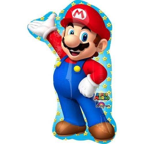 """Фольгированная шар фигура """"Супер Марио"""" - фото 1"""