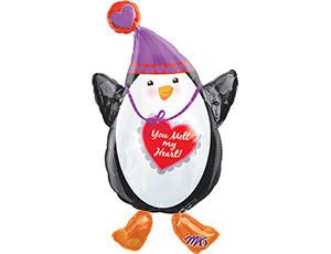 """Шар-признание """"Пингвин в шапке"""" - фото 1"""