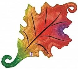"Шар фигура ""Осенний лист"" - фото 1"
