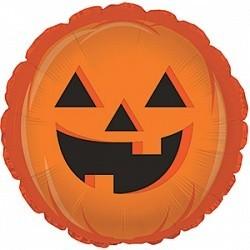 """Фольгированный шар в виде тыквы """"На Хеллоуин"""" - фото 1"""