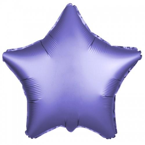 Гелиевая фольгированная звезда, Сатин - фото 1