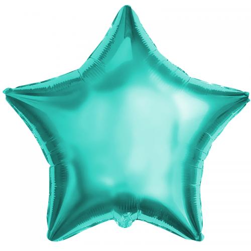 Фольгированный шар звезда, Тиффани - фото 1