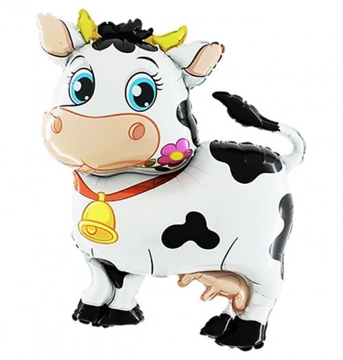 """Воздушный шар из фольги """"Корова"""" - фото 1"""