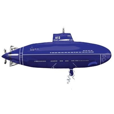 "Шар фигура ""Подводная лодка"" - фото 1"