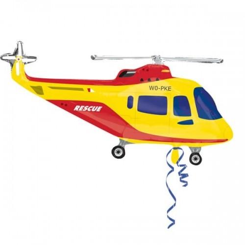 """Шар Фигура, """"Вертолет"""" из фольги - фото 1"""