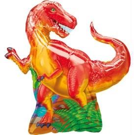 """Шар фигура """"Динозавр красный"""" - фото 1"""