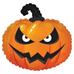 """Воздушный шар """"Тыква"""" из фольги на Хэллоуин - фото 1"""