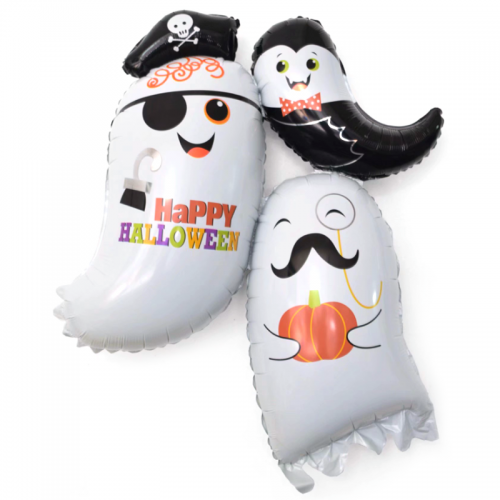 Фольгированный шар привидений для Хэллоуина - фото 1