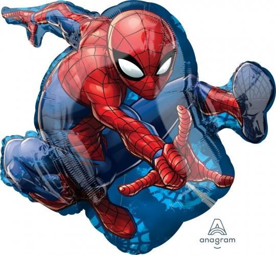 """Фольгированный шар """"Человек паук в прыжке"""" - фото 1"""