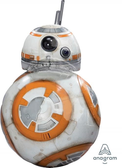 """Шар из фольги """"Звездные Войны Дроид BB-8"""" - фото 1"""