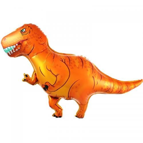 """Фольгированный воздушный шар с гелием """"Тиранозавр"""" - фото 1"""