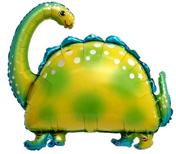 """Воздушный шар из фольги """"Бронтозавр"""" - фото 1"""