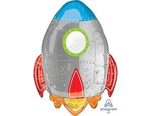 """Фольгированный шар """"Ракета"""" - фото 1"""