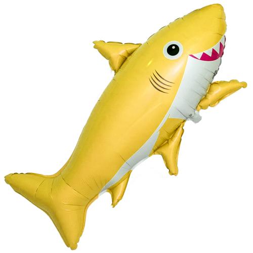 """Фигурка из фольги """"Веселая акула"""" - фото 1"""